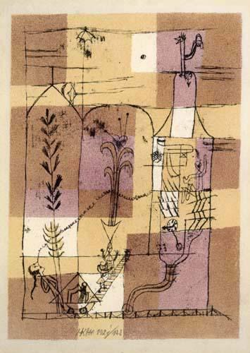 Paul Klee - Fairy tale scene after Hoffmann
