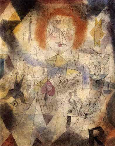 Paul Klee - Irma Rossa - Die Bändigerin