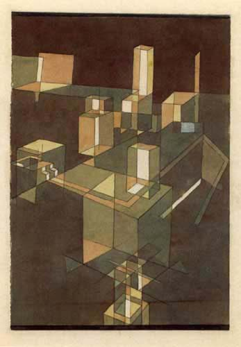 Paul Klee - Italian Town