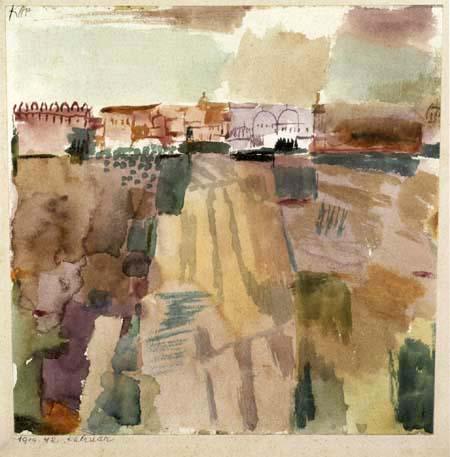 Paul Klee - Kairouan