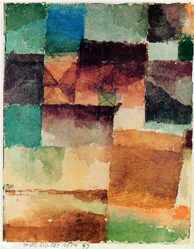 Paul Klee - A camel in the desert