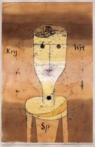 Paul Klee - Sparse Words of the Thrifty