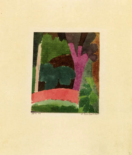 Paul Klee - Small Park Landscape