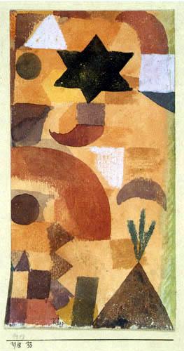 Paul Klee - Kleine Vignette an Ägyten