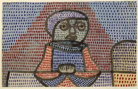 Paul Klee - A boy at the table