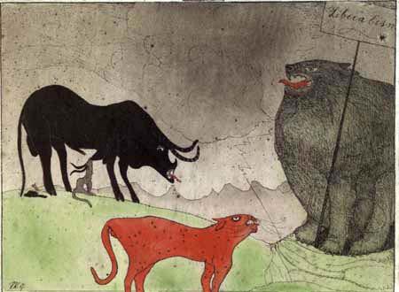 Paul Klee - Konzert der Parteien