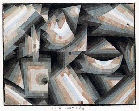 Paul Klee - Kristall - Stufung