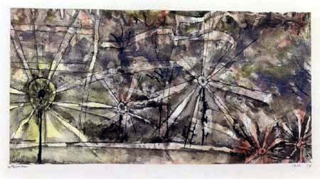 Paul Klee - Laternen