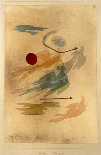 Paul Klee - Aerial Hunting Scene