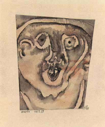 Paul Klee - Maske