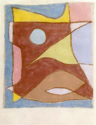 Paul Klee - Máscara de un guía subacuático