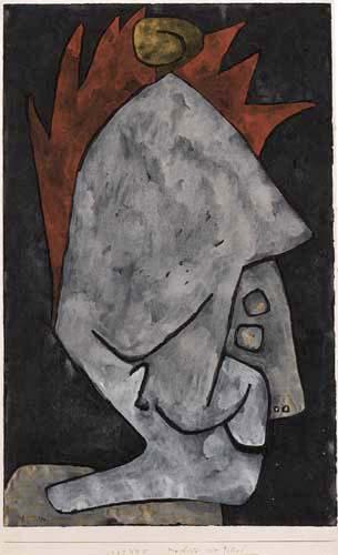 Paul Klee - Mephistopheles as Pallas