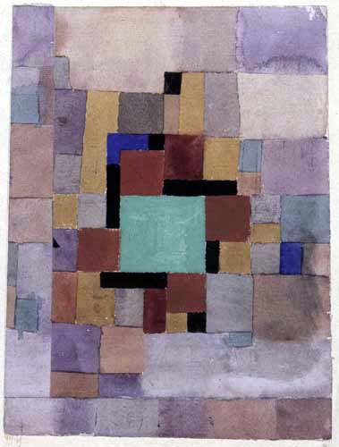 Paul Klee - Mit dem grünen Quadrat