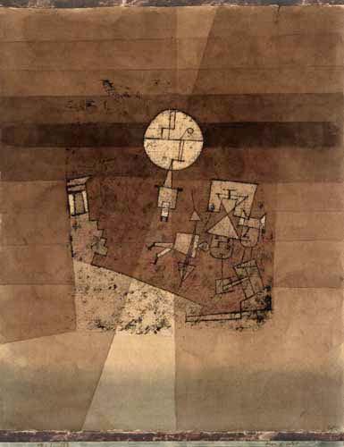 Paul Klee - Game of the moon