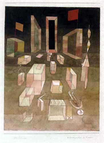 Paul Klee - Mess in a room