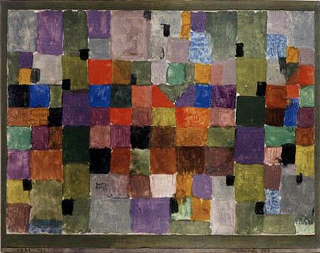Paul Klee - Una ciudad del norte