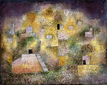 Paul Klee - Un jardin oriental