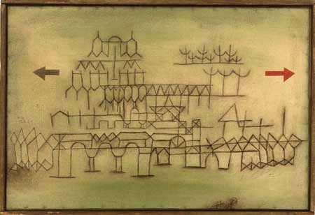 Paul Klee - Palace in passing