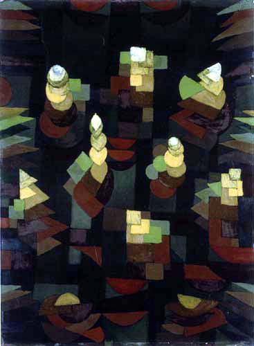 Paul Klee - Plant Growth