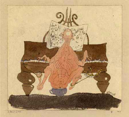 Paul Klee - A pianist in need