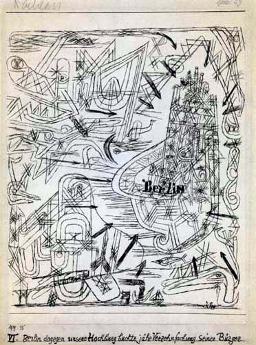 Paul Klee - Potsdamer Platz VI
