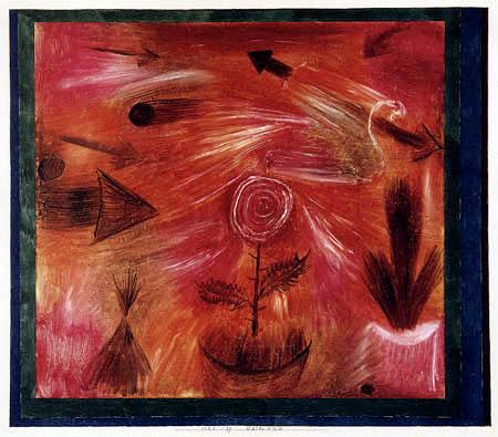 Paul Klee - Rosenwind