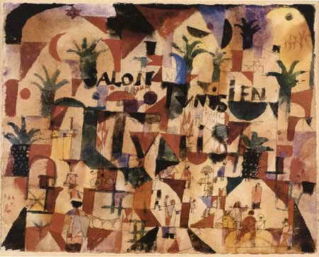 Paul Klee - Salon Tunesien