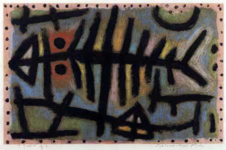 Paul Klee - Schlamm - Assel - Fisch
