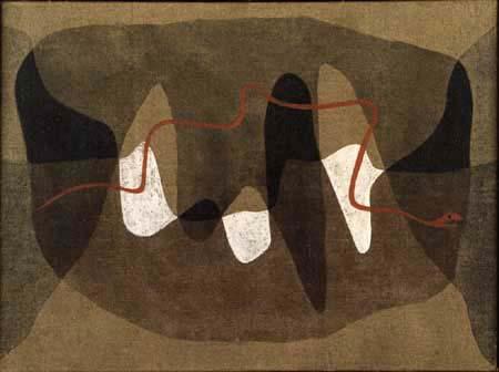 Paul Klee - Schlangen Wege