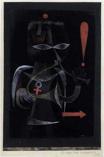 Paul Klee - A black herald
