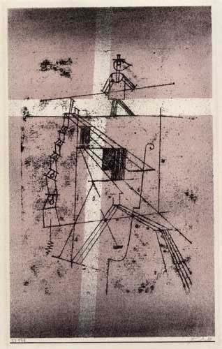 Paul Klee - Seiltänzer