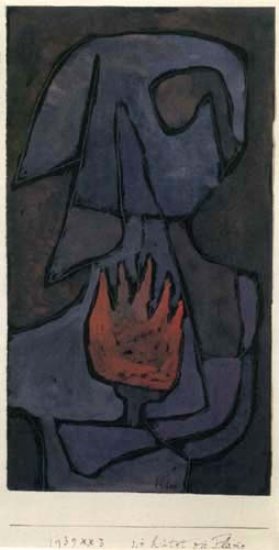 Paul Klee - She guarded the flame
