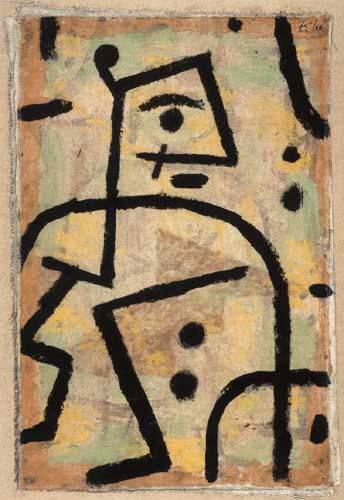 Paul Klee - Soldat