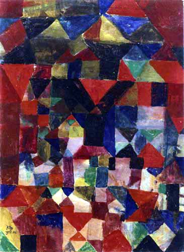 Paul Klee - A city similar structure