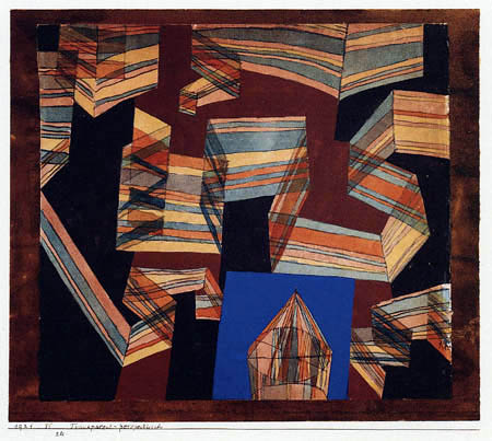 Paul Klee - Transparent - Perspectively