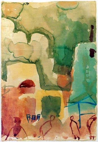 Paul Klee - Croquis tunisien