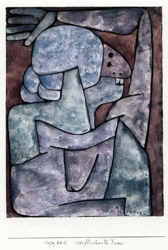 Paul Klee - Woman
