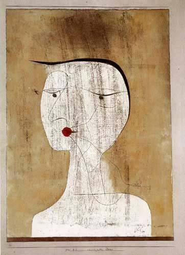 Paul Klee - Retrato de una mujer con sello