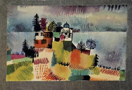 Paul Klee - Villen am See