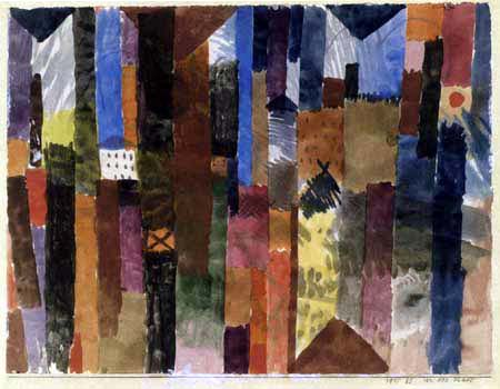 Paul Klee - Before the city
