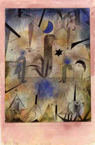 Paul Klee - Warning of the Ships