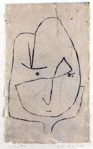 Paul Klee - Will verwelken