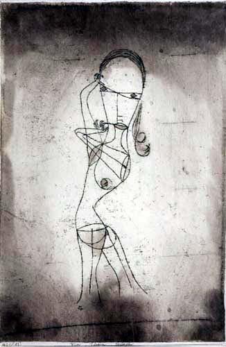 Paul Klee - El conocimiento, el silencio, la pasada