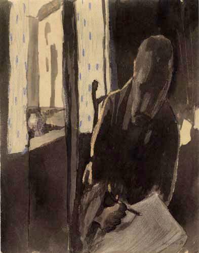 Paul Klee - Zeichner am Fenster