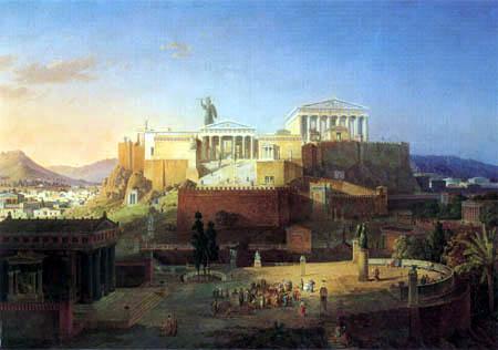 Leo von Klenze - Akropolis von Athen