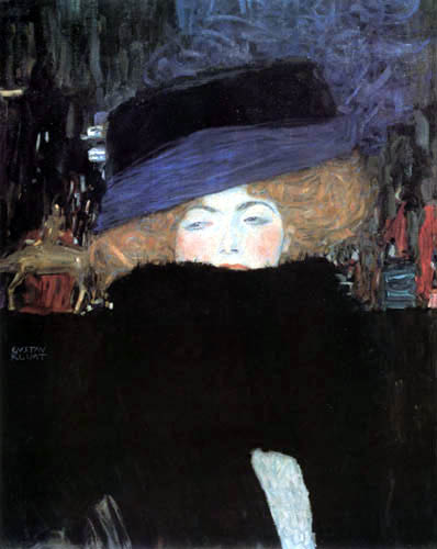 Gustav Klimt - Lady with hat