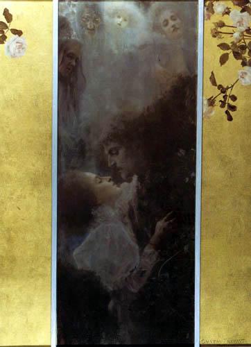 Gustav Klimt - Love