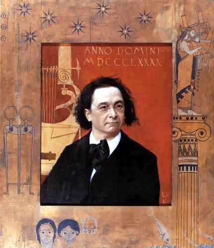 Gustav Klimt - The Pianist Joseph Pembauer