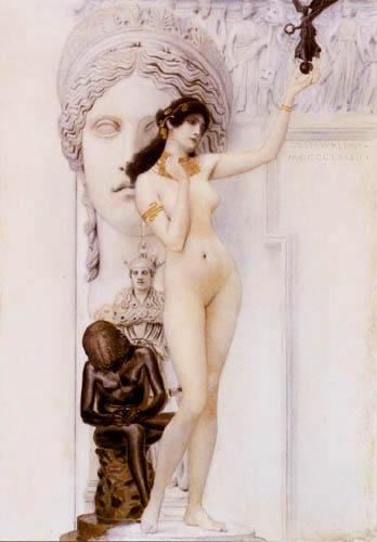 Gustav Klimt - Allegorie of the sculpture