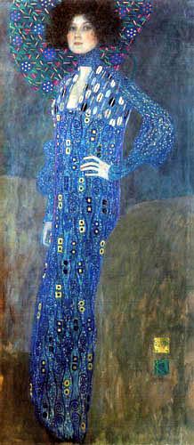 Gustav Klimt - Portrait of Emilie Flöge